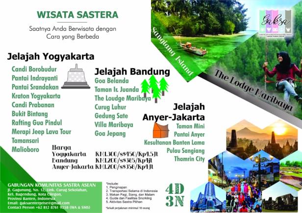 Indonesia-Wisata Sastera